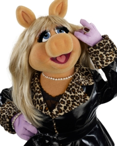 "Miss Piggy from ""The Muppets"""